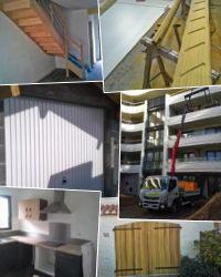 Menuiserie - ouverture bois, alu et PVC sur mesure et pose: portes, fenêtres, escaliers, agencement intérieur…