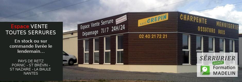 Cr pin menuiserie charpente serrurerie st p re en retz 44320 - Garage charpentier nantes ...